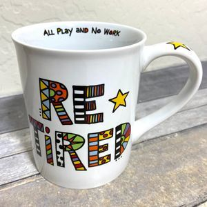Funny Colorful Retired Coffee Mug 16oz